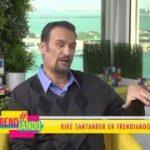 Kike Santander comparte en Trendiando