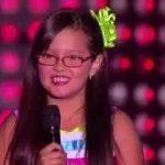 Valentina cantó 'Farolito' de Kike Santander